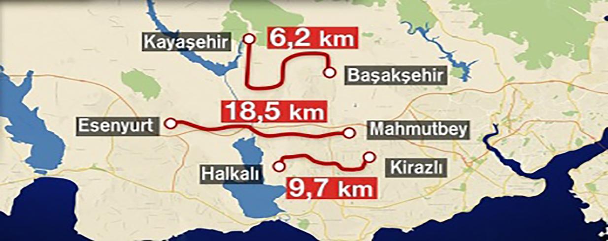 سيتم استخدام خط مترو جديدة في عام 2020