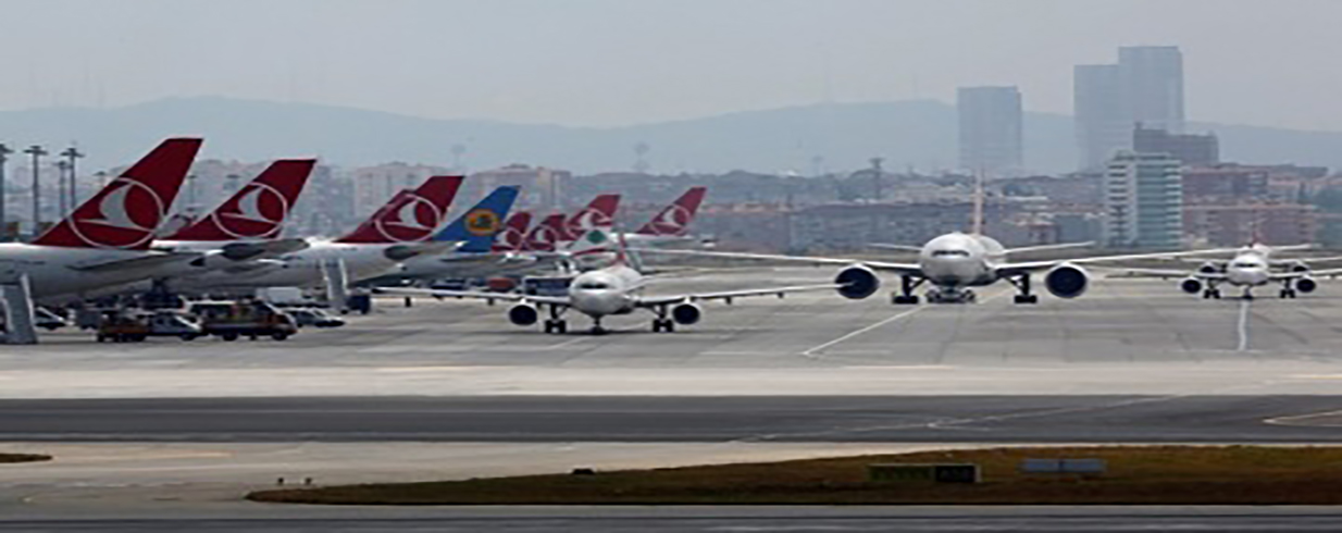 The number of passengers passing through Turkish airports increased by 11% in 2017