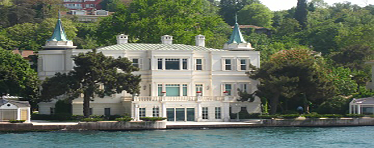 The Most Costly Waterfront Mansions in Istanbul