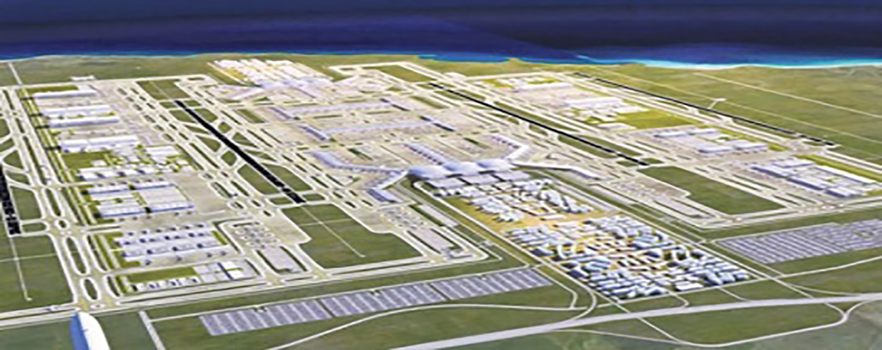World busiest airport will be open in October, 2018