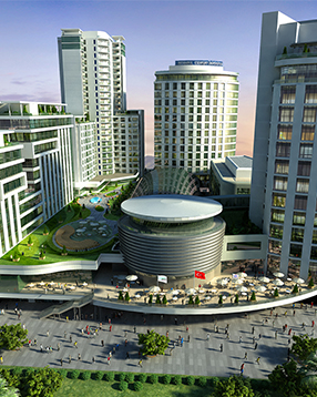 LUXURY APARTMENTS WITH SHOPPING MALL IN ISTANBUL