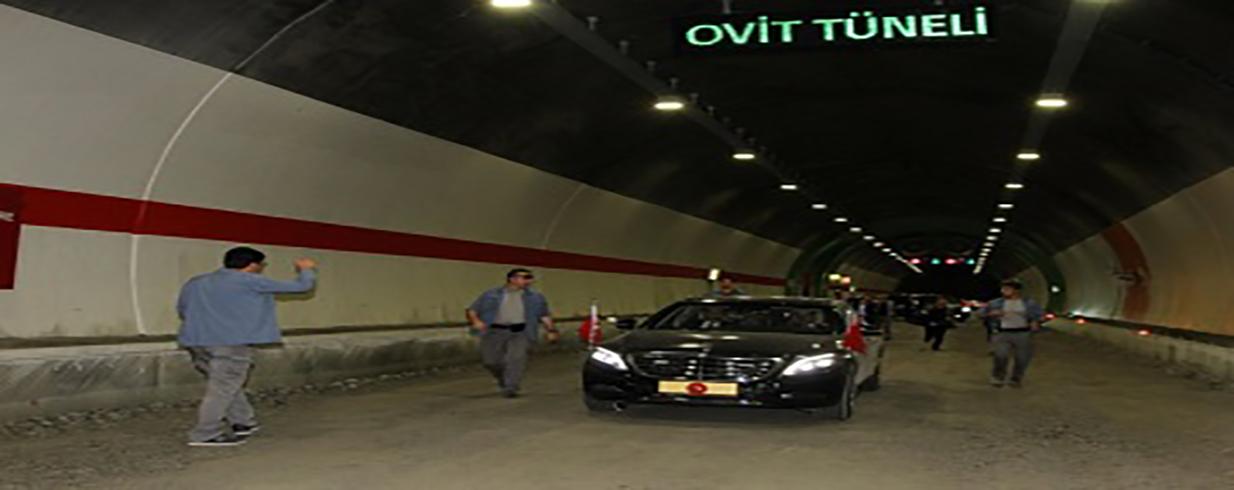 "Turkey's longest tunnel ""Ovit"" was opened"