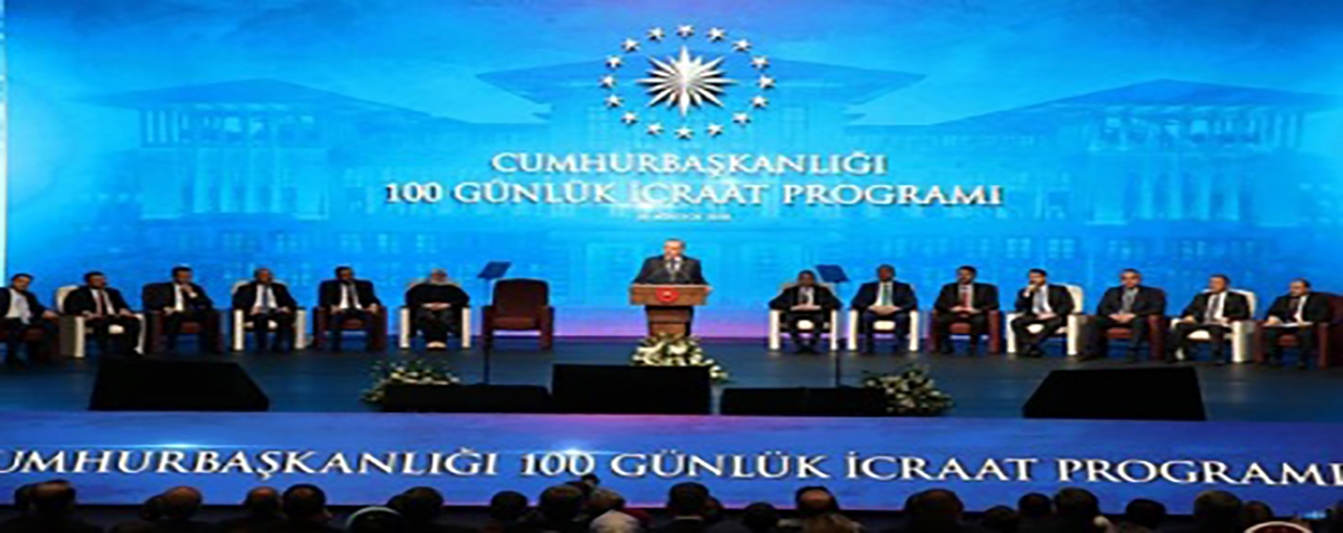 Erdoğan's initial 100-day design: Investment campaign to proceed with expanded budgetary assets