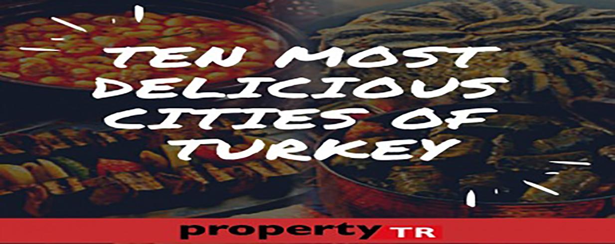 TEN MOST DELICIOUS CITIES OF TURKEY