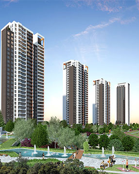 SUPERB LAKE VIEW APARTMENTS IN ISTANBUL