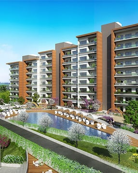 EXCELLENT FAMILY APARTMENTS FOR SALE IN BASAKSEHIR ISTANBUL