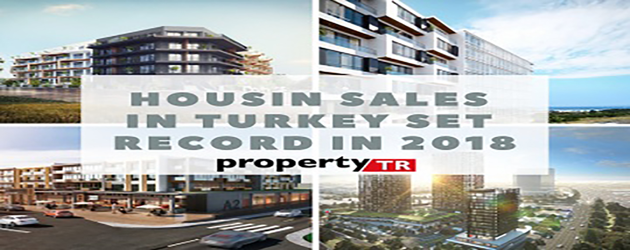 Housing deals to outsiders in Turkey set record in 2018 with 78.4 percent expansion