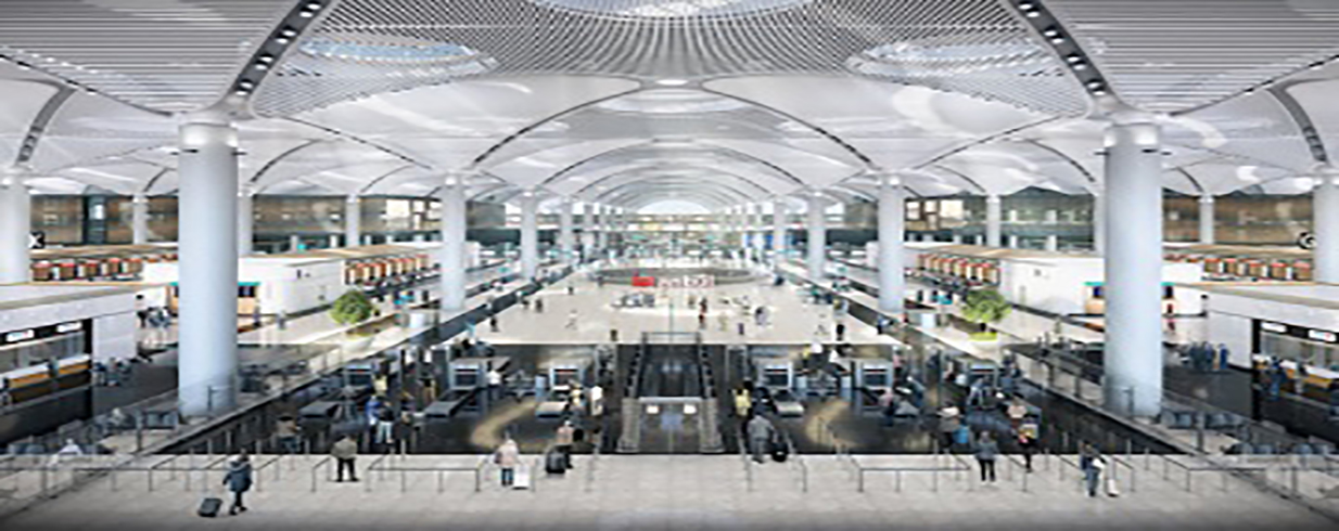 Istanbul Airport to Increasing the Value of Districts Around it