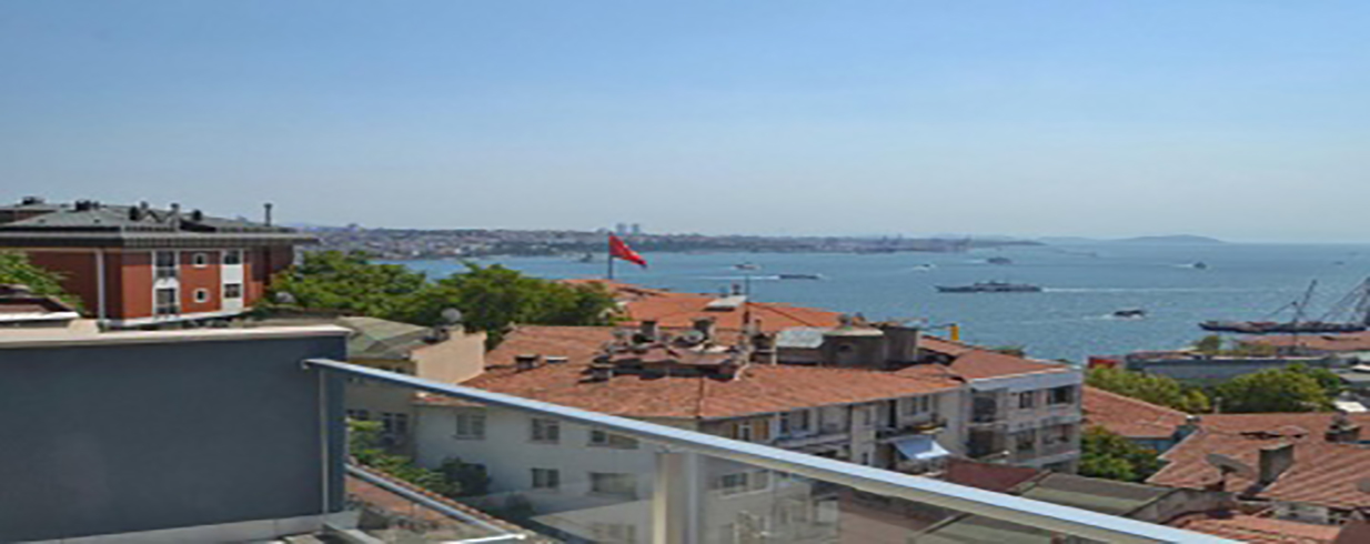 Bosphorus View Duplex in Istanbul for Sale