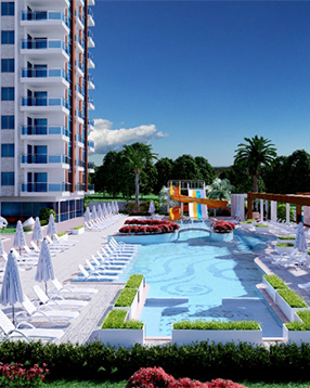 LUXURY SEA VIEW APARTMENTS IN ALANYA