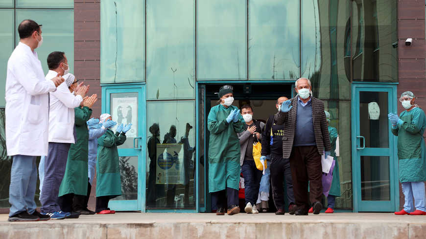 In Turkey recoveries from virus pass one-third of cases