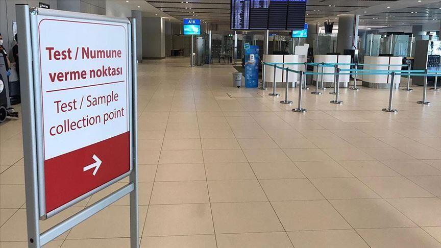 مرکز آزمون کووید-۱۹ در فرودگاه استانبول تأسیس شده است