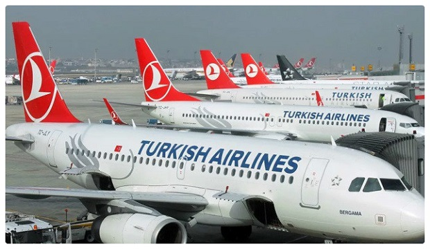 الخطوط الجوية التركية هي ثاني أكبر خطوط تشغل رحلات في أوروبا