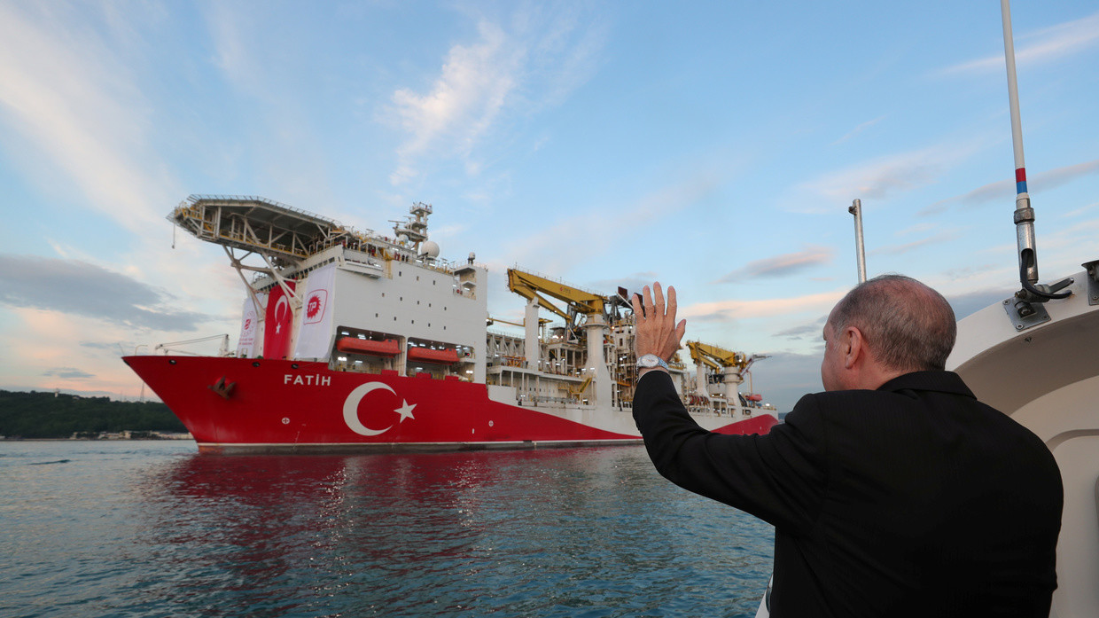 President Recep Tayyip Erdogan: Turkey makes history in finding its largest ever natural gas deposit