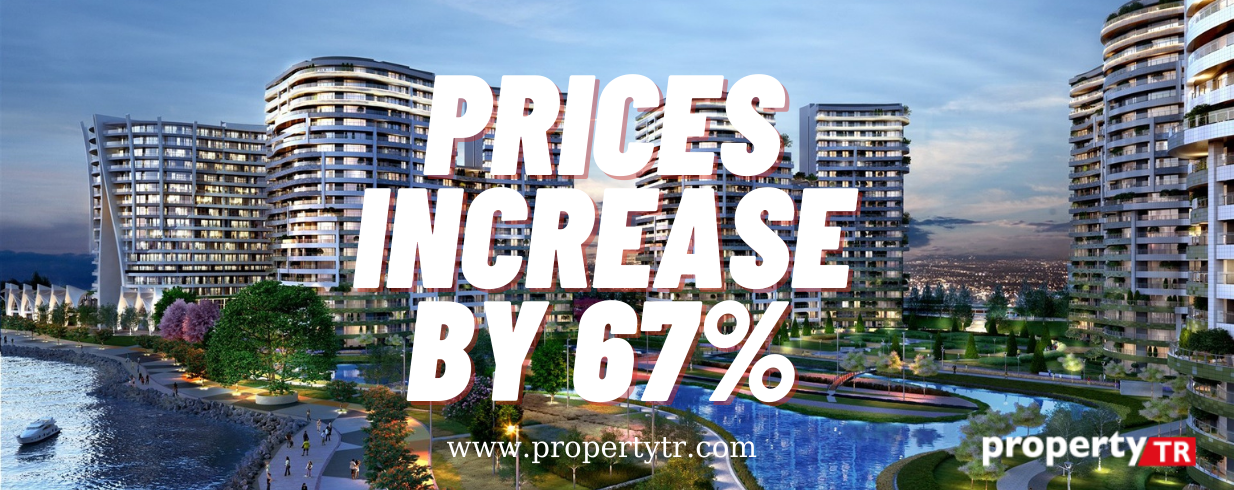 Prices has increased by 67% in Turkey