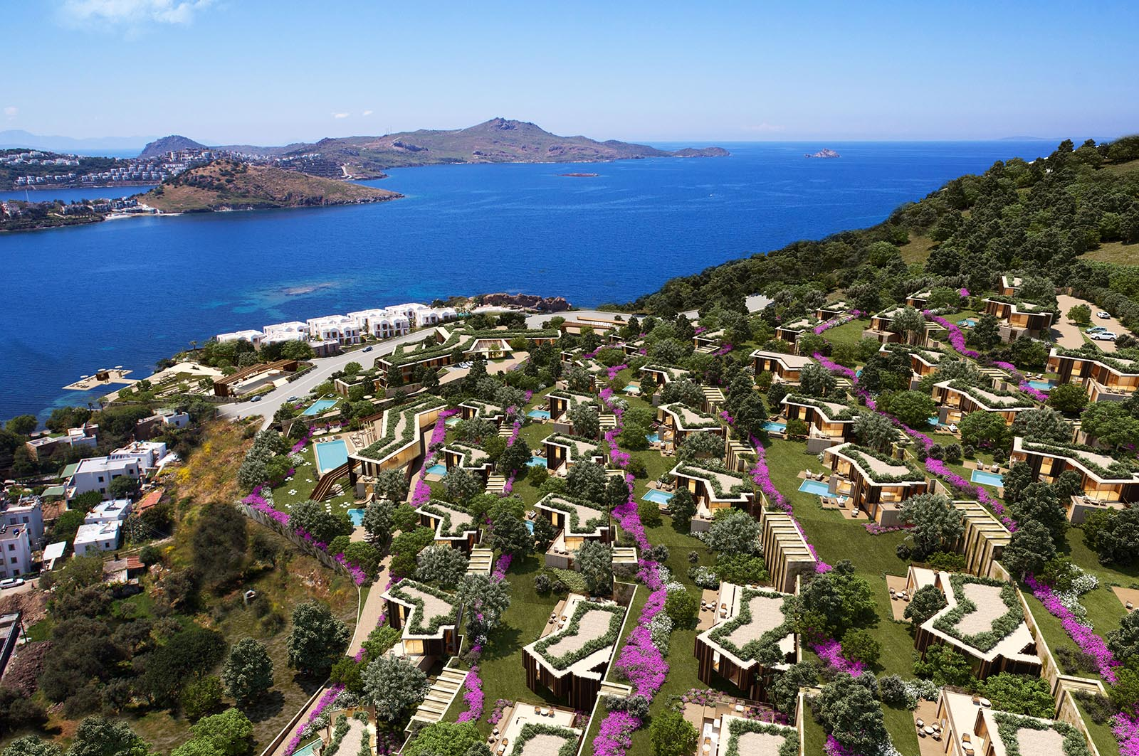 Benefits of Open Spaces in & Around Homes in Bodrum Penisula