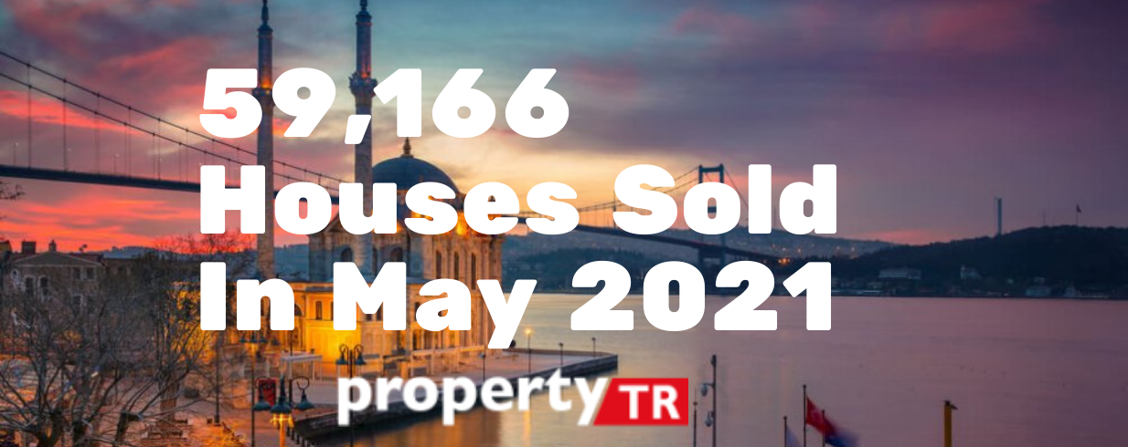 59,166 Houses Sold In May 2021